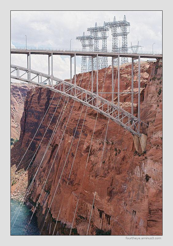 Glen Canyon dam power station