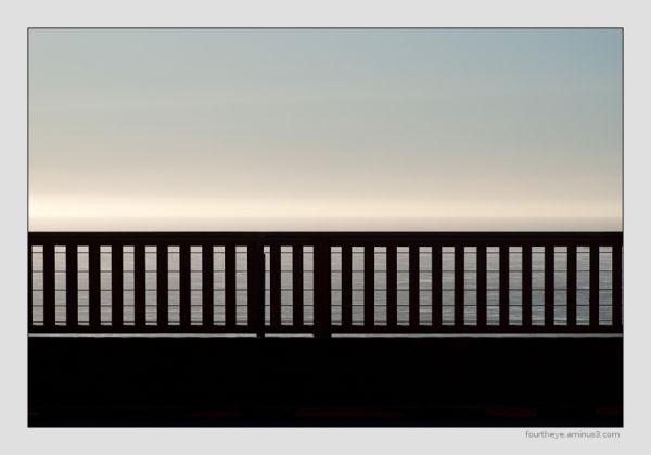 rail of Golden Gate bridge