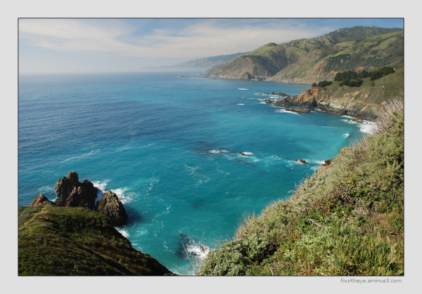 California coast Big Sur