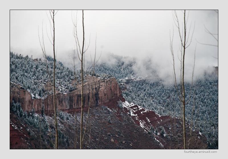 stormy cliffs