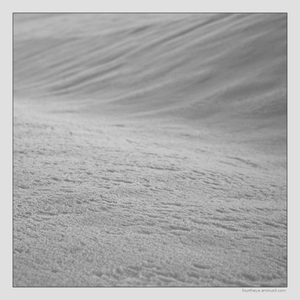 snow abstract