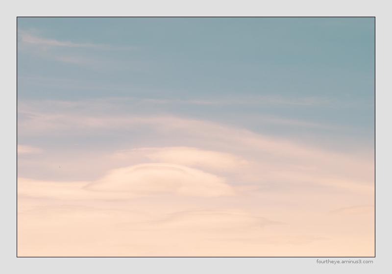 pastel cloudscape