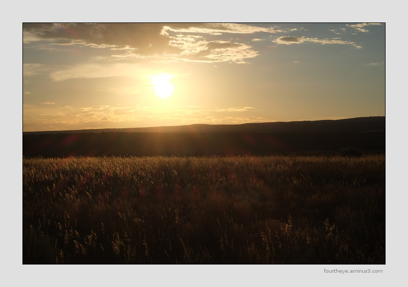 dryside sunset