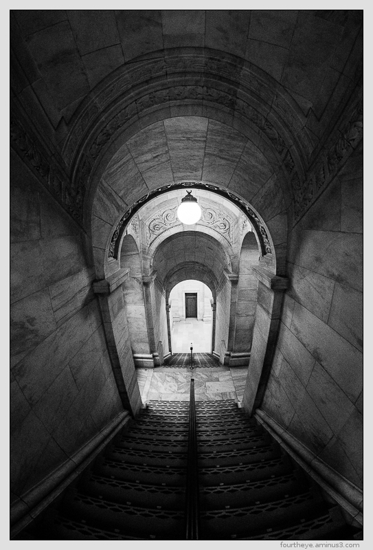New York Public Library staircase
