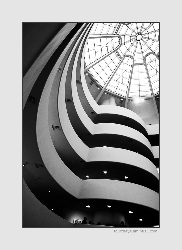 interior of Guggenheim nyc