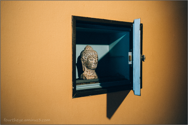 buddha in a safe