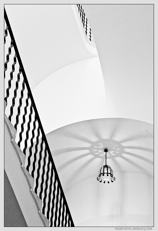 stairwell at Dubrovnik Museum of Art