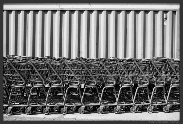 shopping cart pattern
