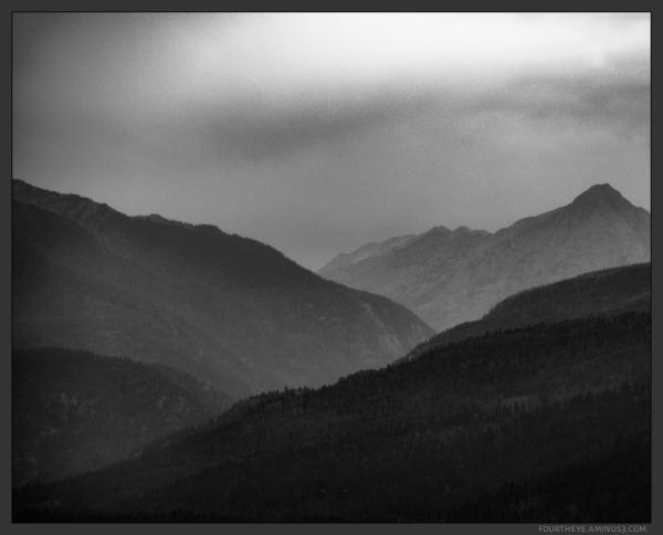 mountain cloud storm