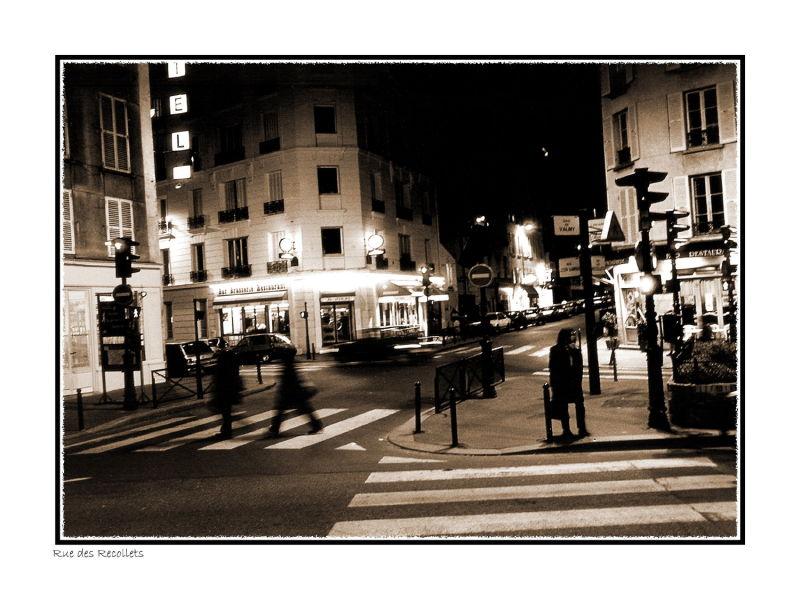 Paris, Rue des Recollets (2006); 30x40