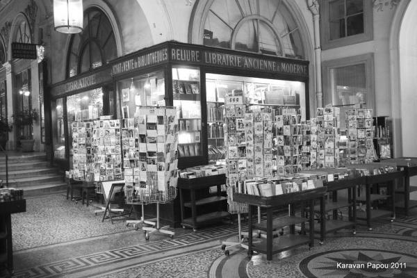 Galerie Vivienne 4 La librairie Petit Siroux