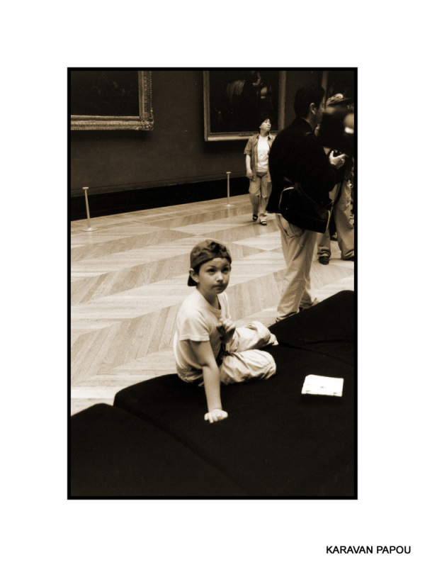 Au musée du Louvre (2)