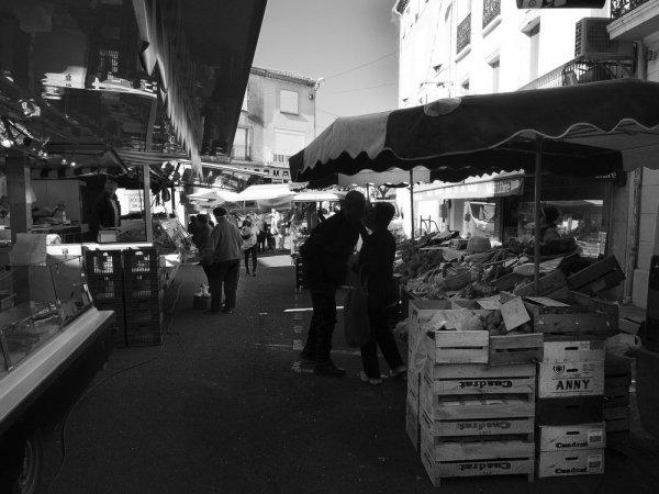 Servian hors saison  29 : Jour de marché