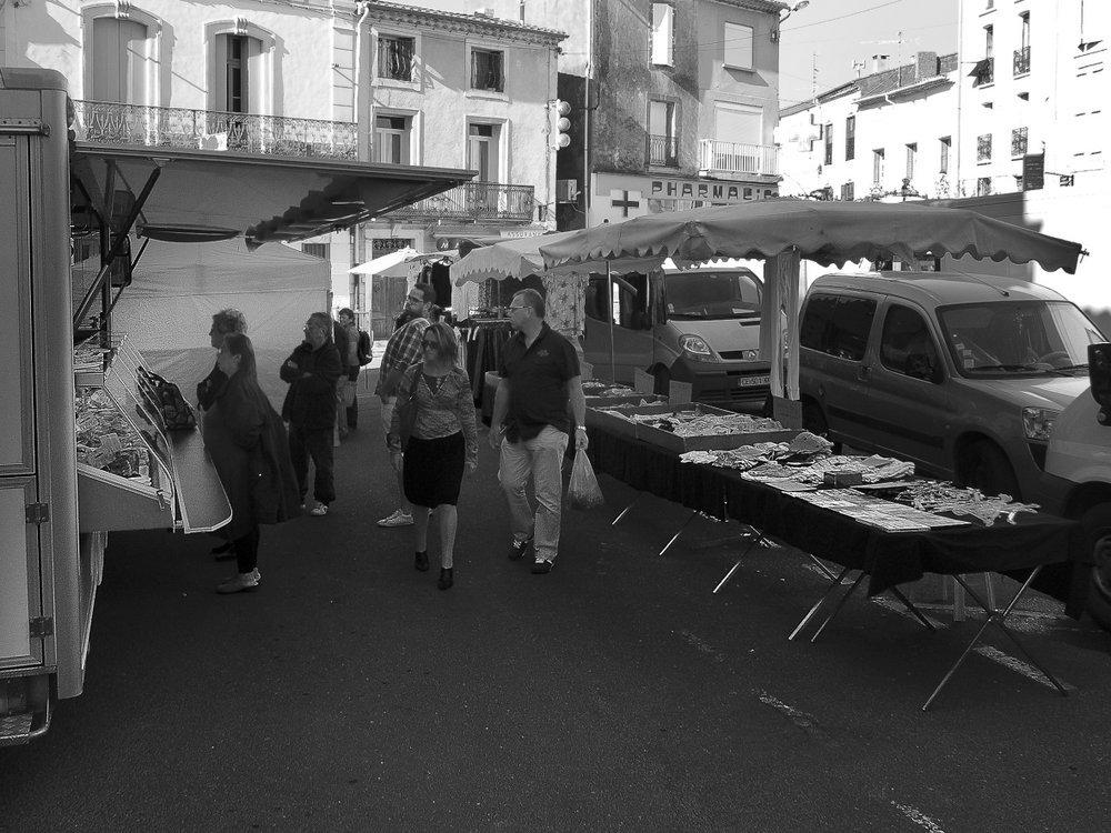 Servian hors saison  30 : Jour de marché