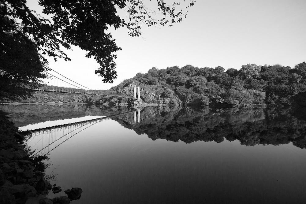 Limousin, Creuse, Pont de St Marien (2)
