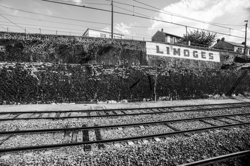 entrée en gare de Limoges