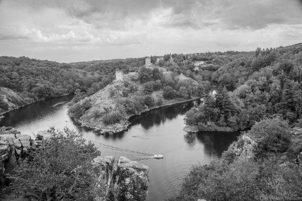 Les ruines de Crozant (Creuse)
