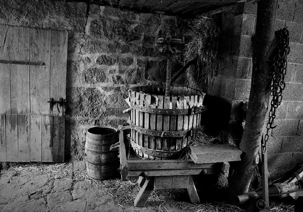 Le pressoir (Creuse)