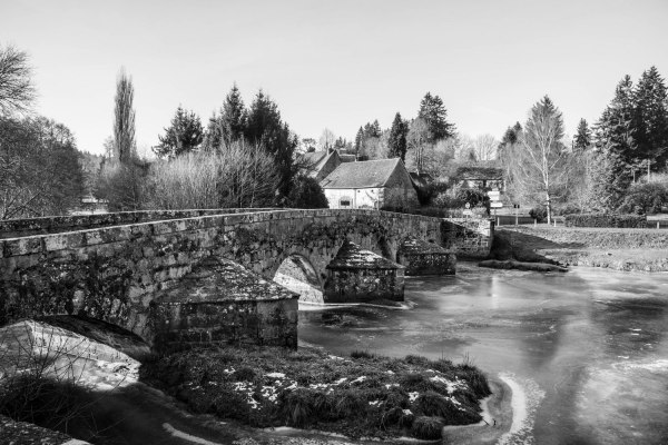 Le pont Roby (Creuse)