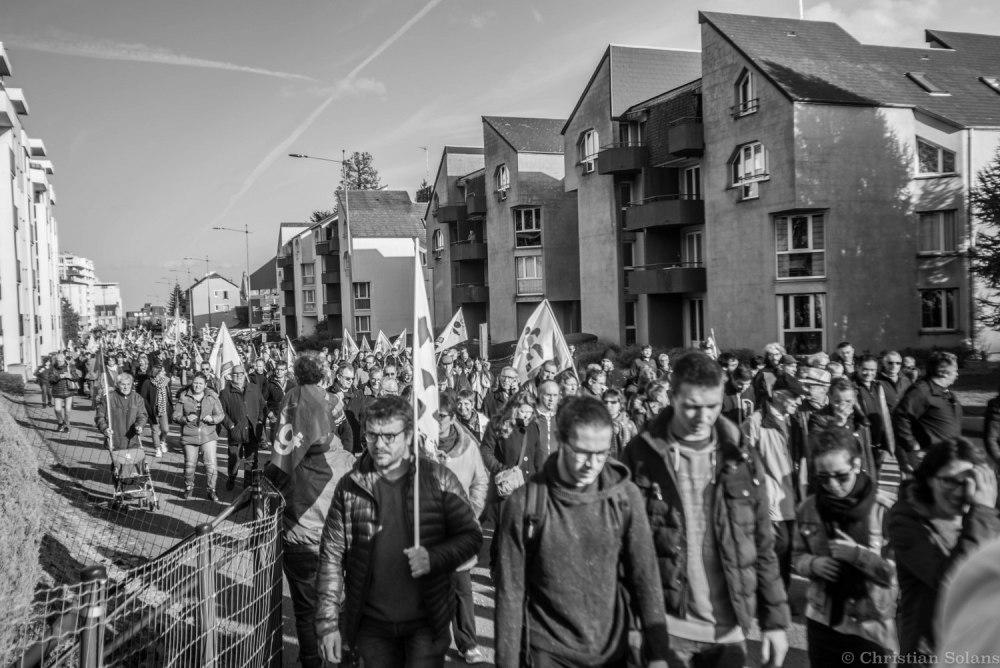 Manifestation Guéret (Creuse)