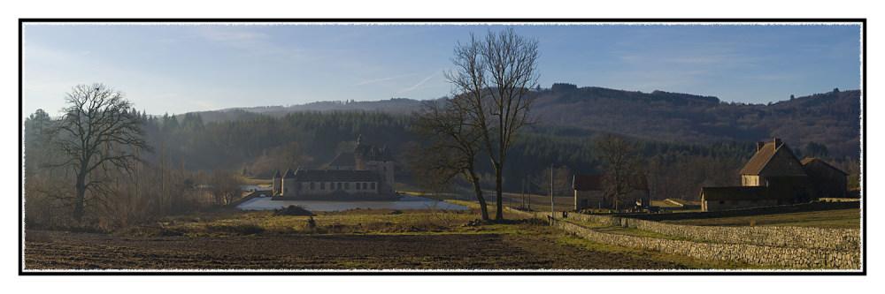 Le château du Theret  (Creuse)