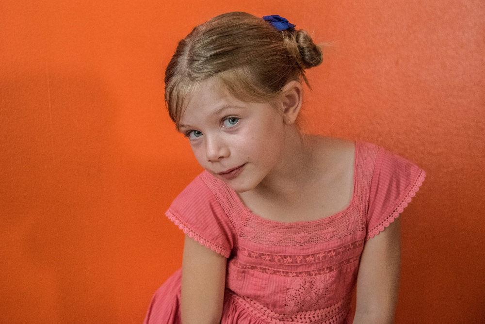 Hannah à Huit ans
