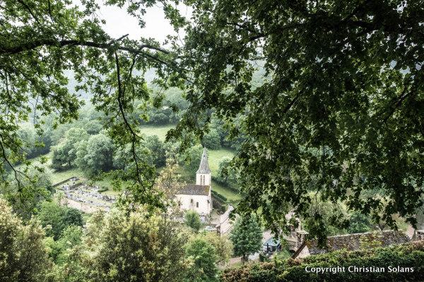 En Aveyron. Belcastel
