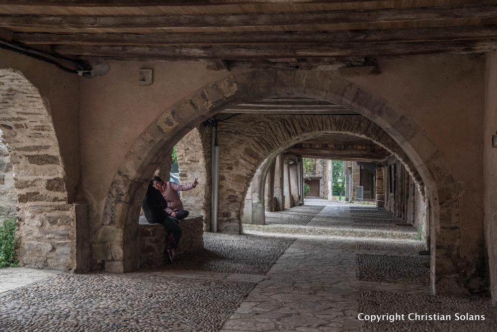 En Aveyron. Sauveterre de Rouergue