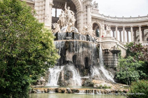 Marseille. Le palais Longchamps