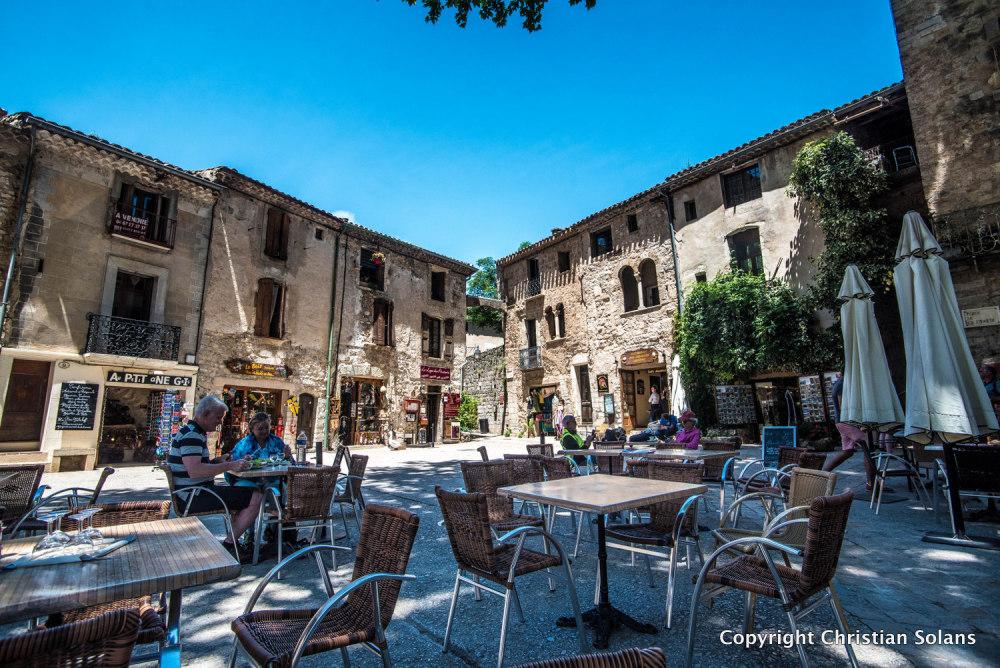 Hérault. St Guilhem le désert