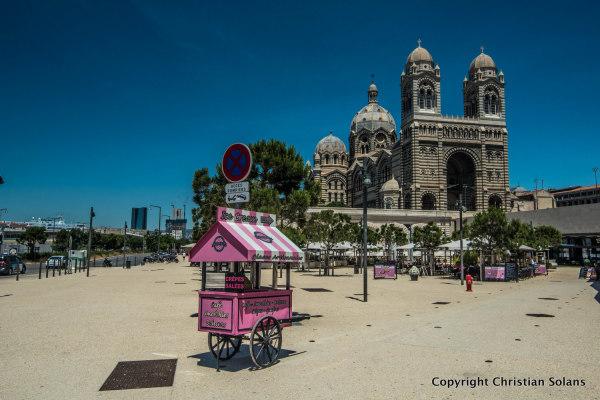 Marseille. Cathédrale La Major