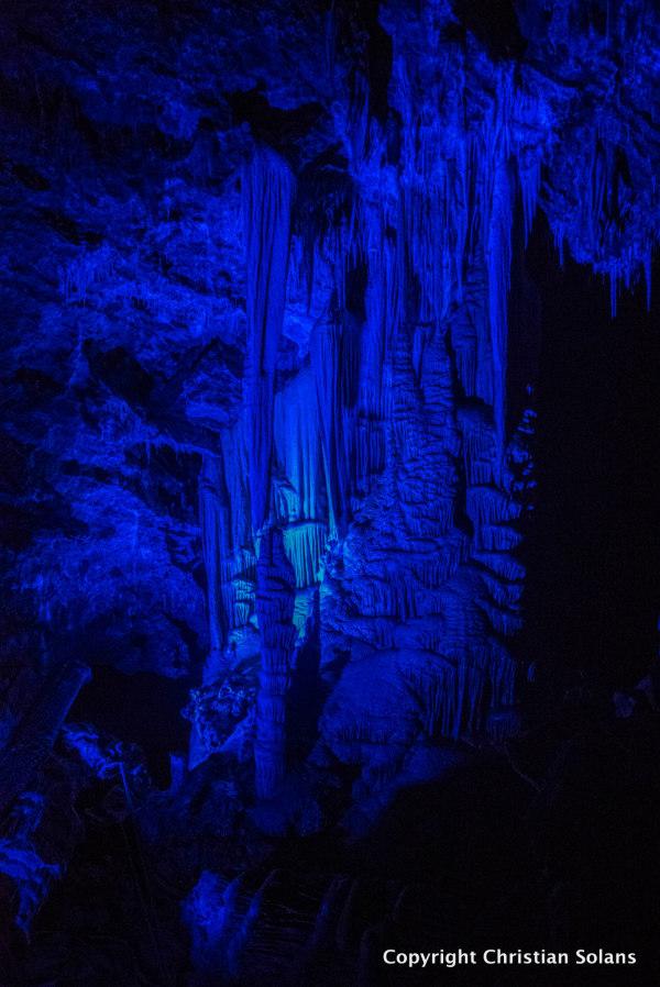 Hérault, grotte de Clamouse