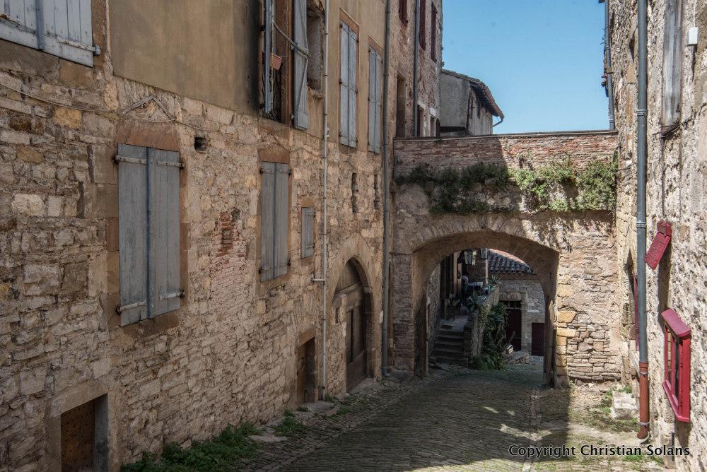 Aveyron, Cordes sur ciel