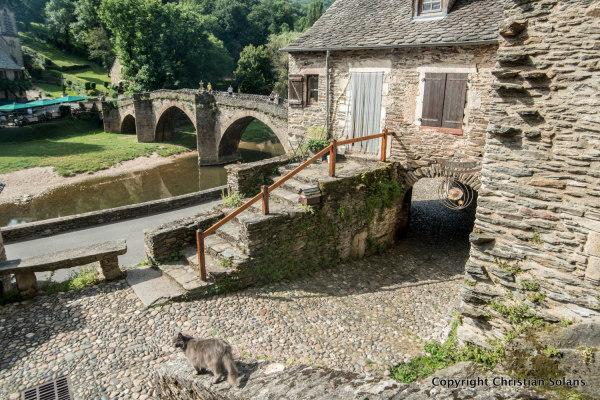 Aveyron, Belcastel.