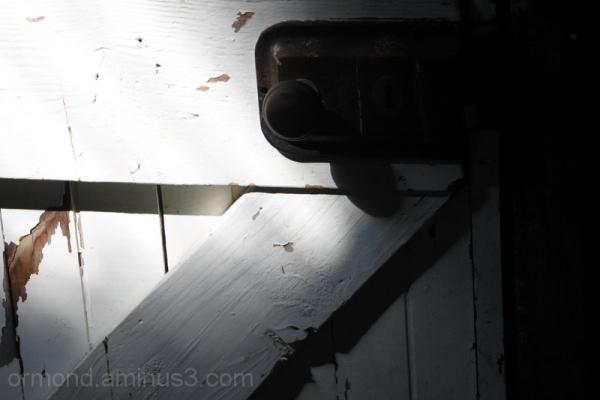 Woolshed door handle