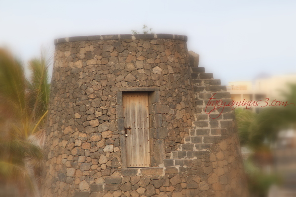 Torrent of bricks