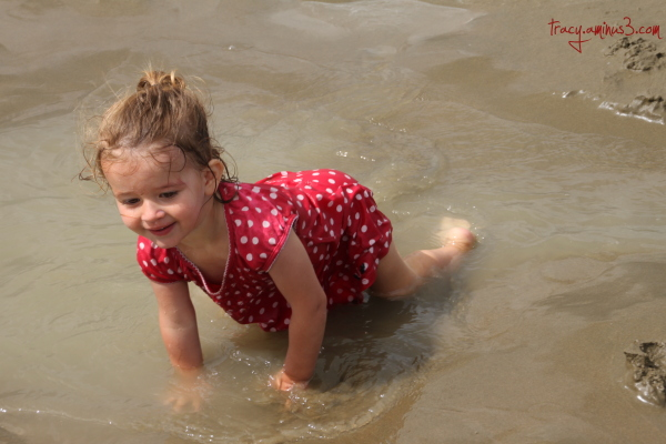 Water playing