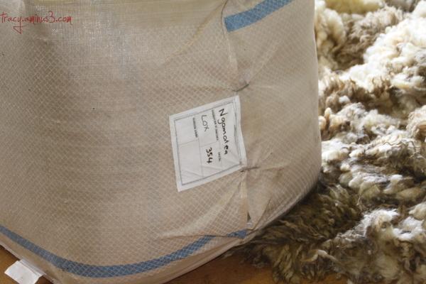 A bale of wool