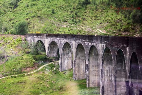 Scotland over bridge