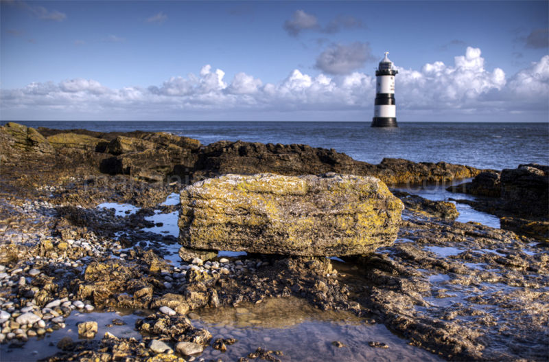 Lighthouse at Penmon, Anglesey