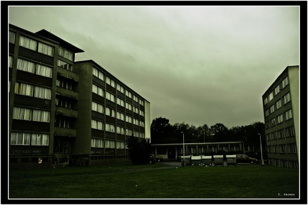 This is where I live - student boarding house