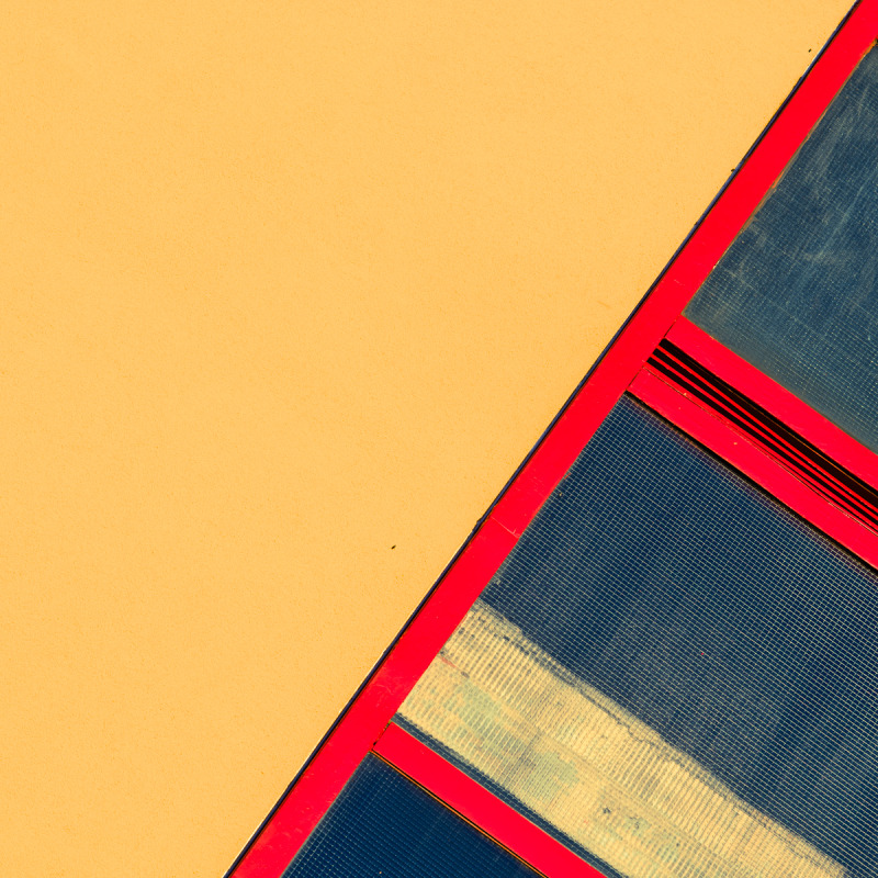 fire exit abstract