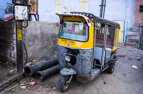 Rickshaw for Elvis