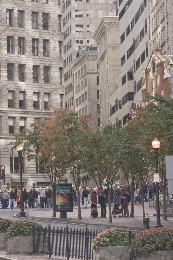 Boston Columbus Day Parade