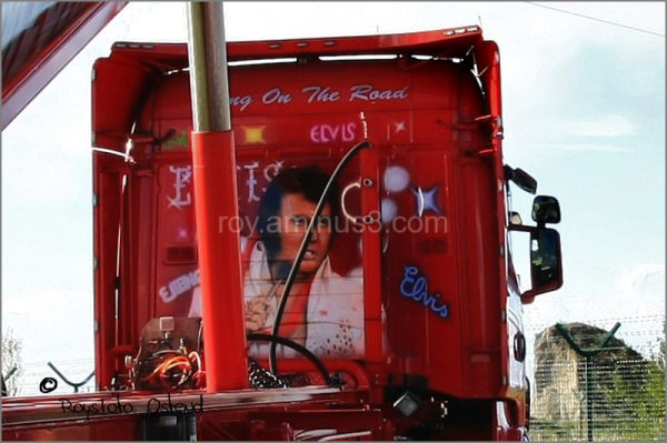 Ostend truck elvis