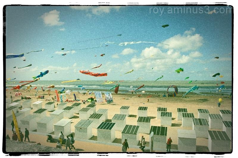 kite festival quadcopter