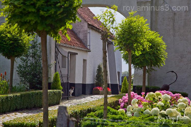 Old Flemisch farm