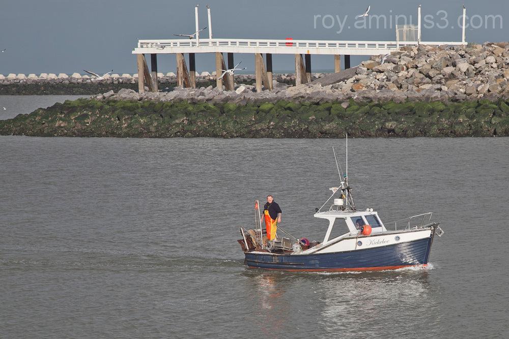 De eenzame visser