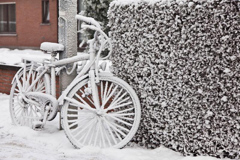 witte fiets