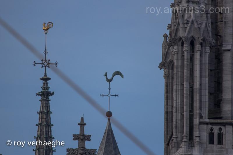 Pier en pol kerk Oostende